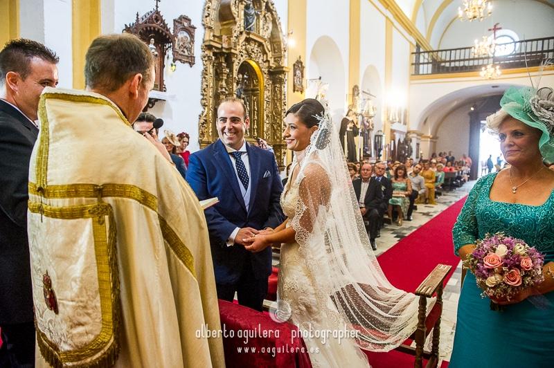 ceremonia iglesia de los frailes