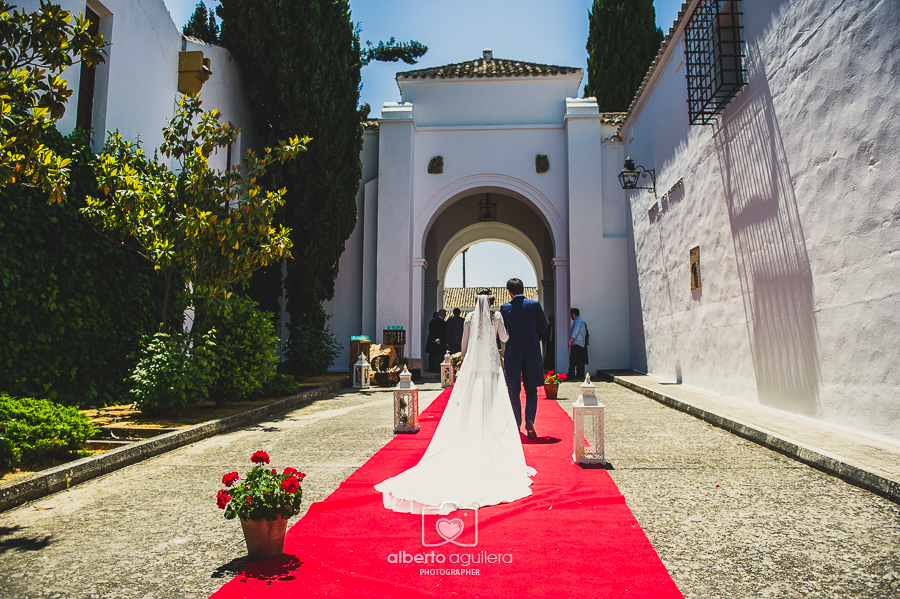 bodega los angeles, boda Javier y Marta