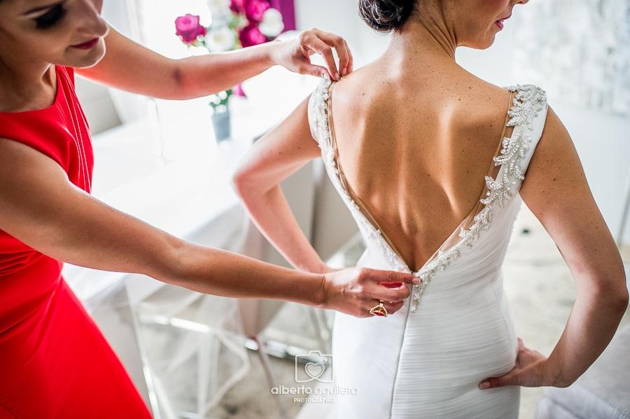 vestido de novia, boda puente genil