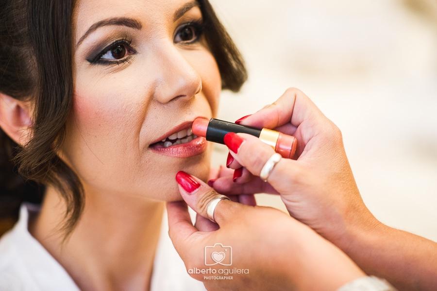 maquillaje de novia, boda puente genil