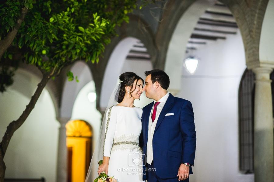 boda puente genil, convento de los frailes