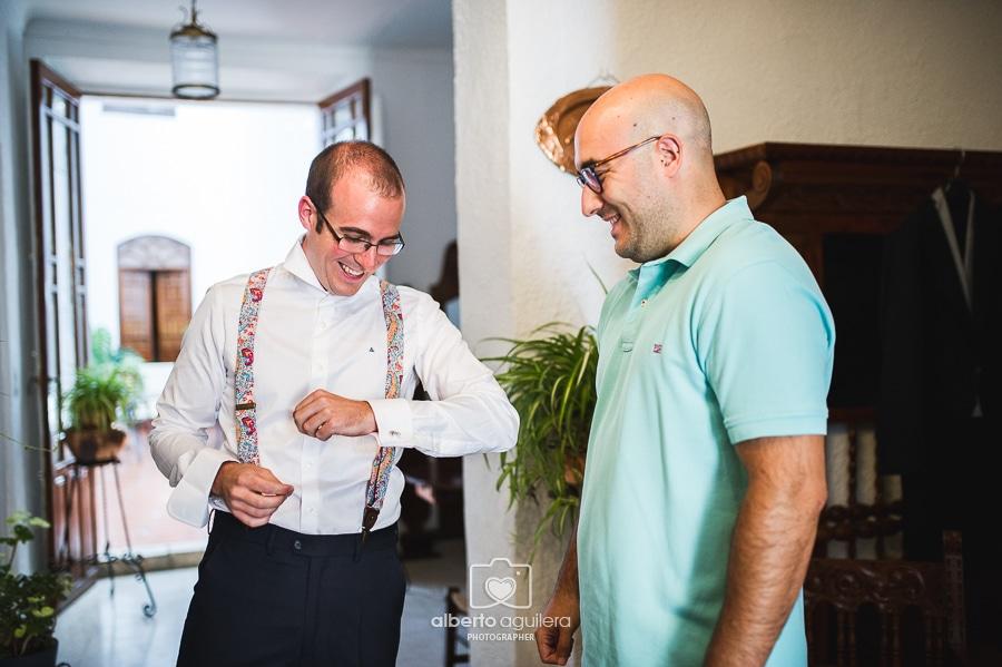 gemelos originales, boda