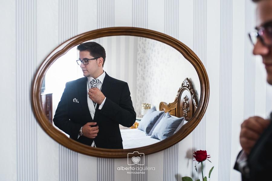 el novio en el espejo
