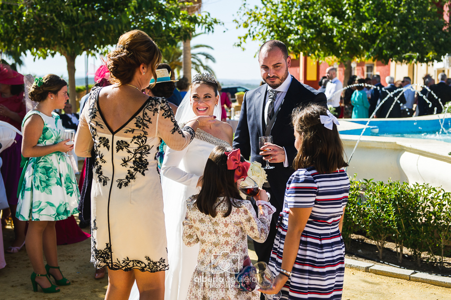 invitados boda, cabra