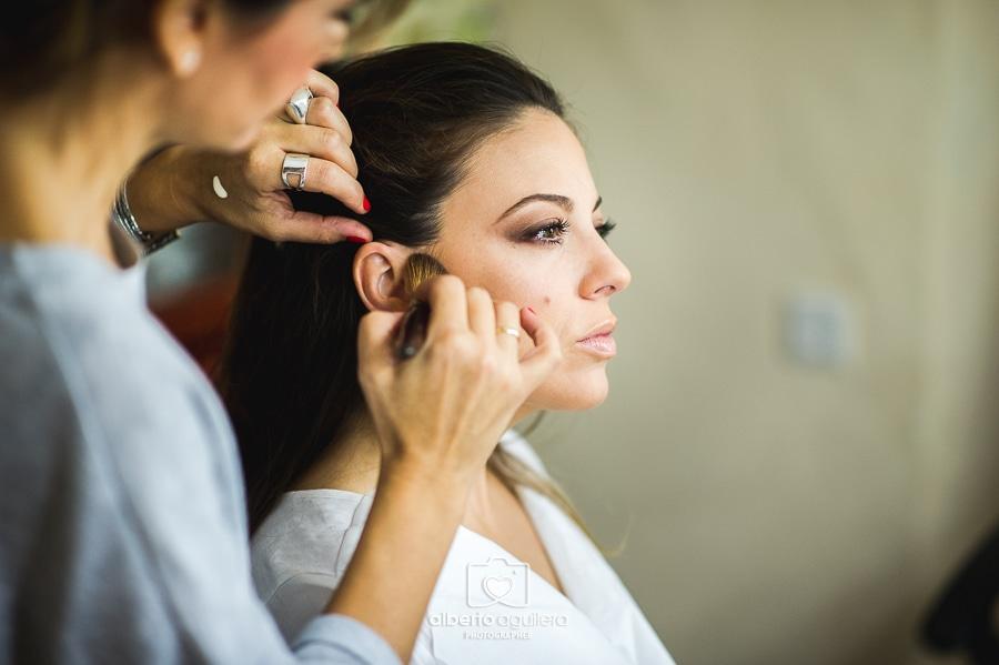maquillaje novia boda en aguilar