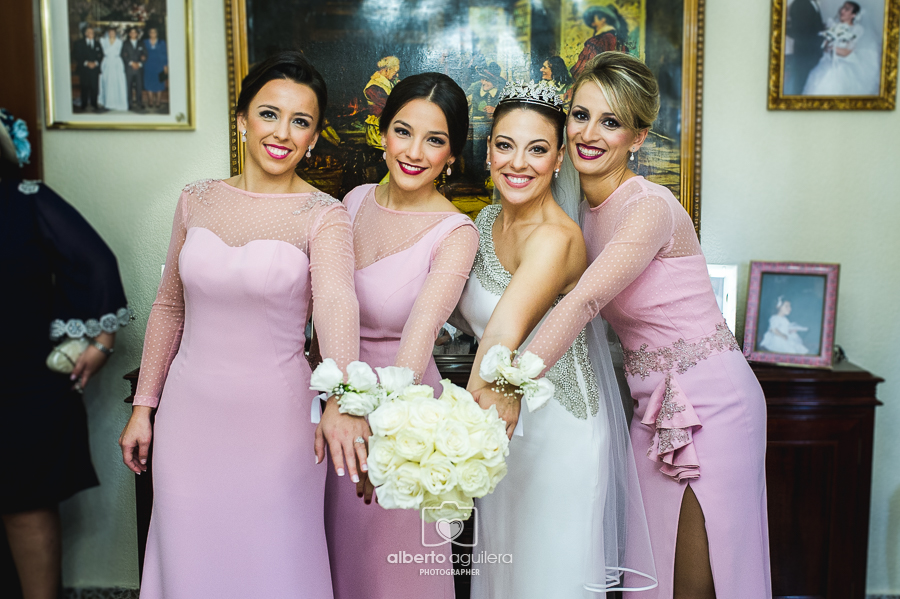 damas de honor, boda en córdoba