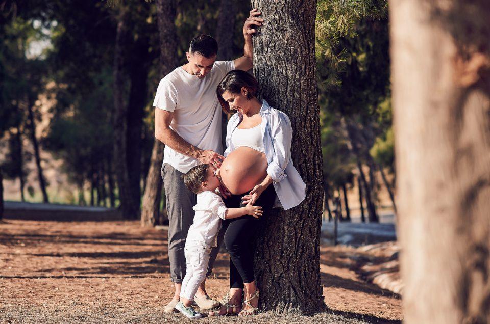Premamá y familia